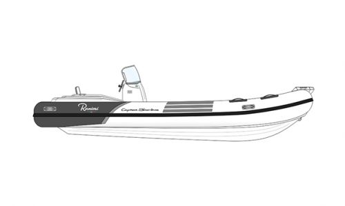 Ranieri Cayman 23 Sport Diving